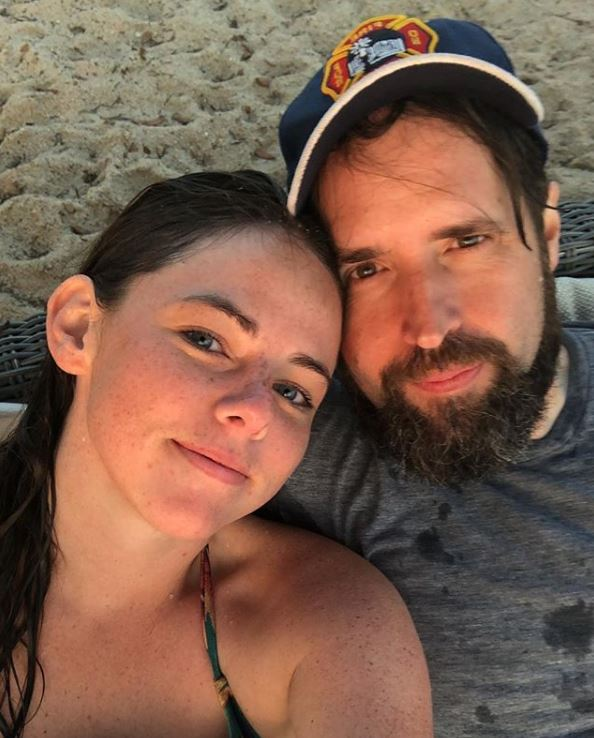 Erin Trussell with her husband, Duncan Trussell. | Source: Instagram