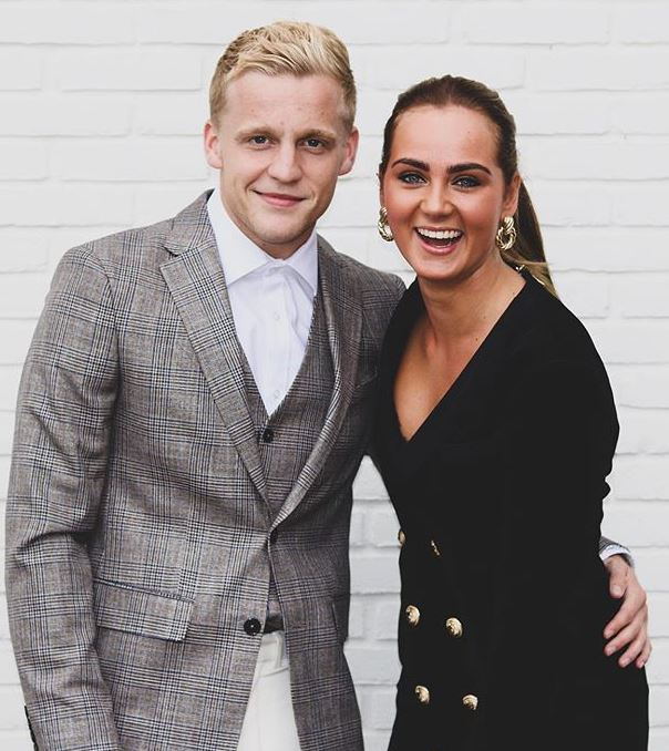 Estelle Bergkamp with her boyfriend, Donny van de Beek. | Source: Instagram