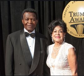 Jacqueline Layne with her late husband, Lou Brock | Source: zimbio.com