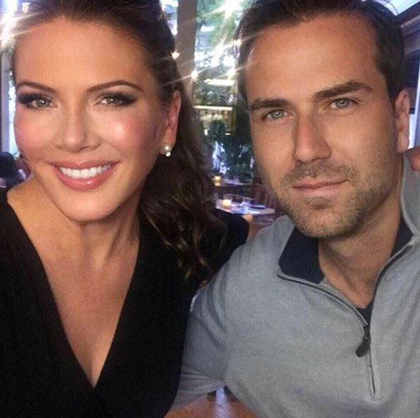 Trish Regan with her husband | Source: Instagram
