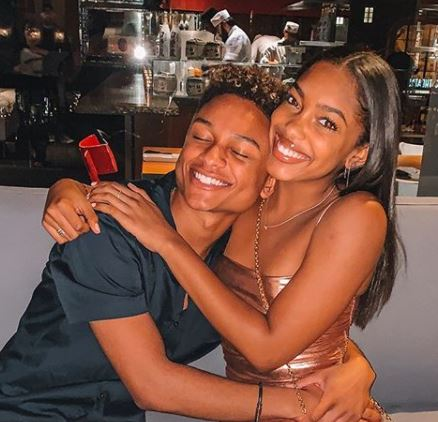 Gabby Morrison with her boyfriend, Andre Swilley | Source: Instagram