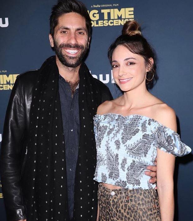 Laura Perlongo with her husband, Nev Schulman. | Source: Instagram