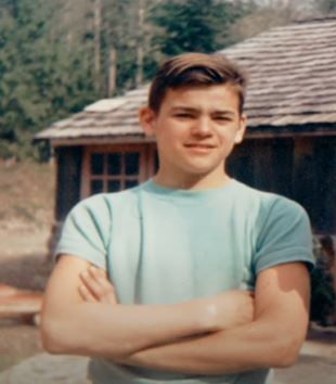 Marty Raney in his teenage | Source: Youtube