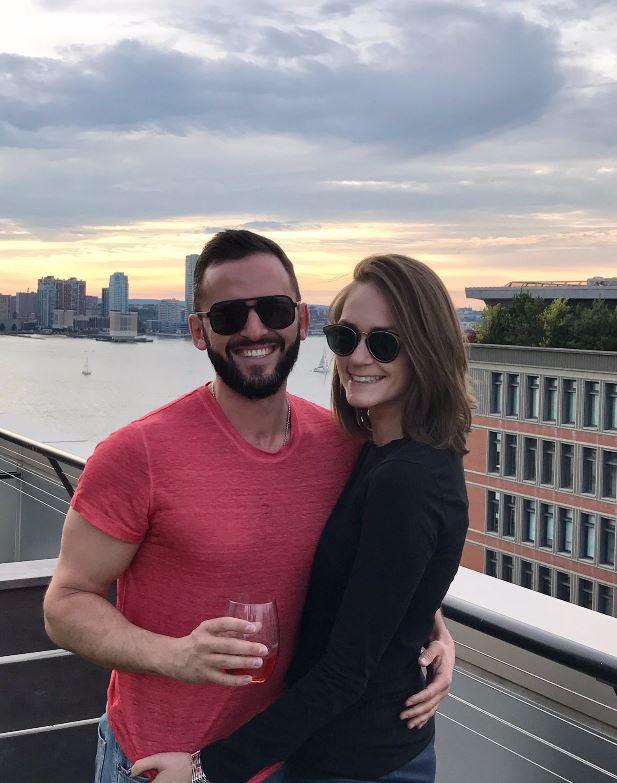 Jessica Tarlov with her boyfriend, Roman Kuznetsov. | Source: Twitter