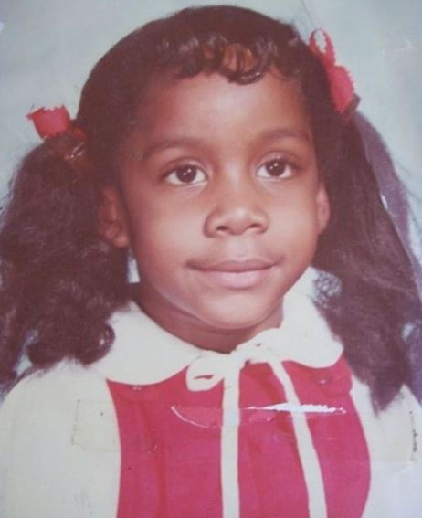 Kimberly Atkins in her early age | Source: Instagram