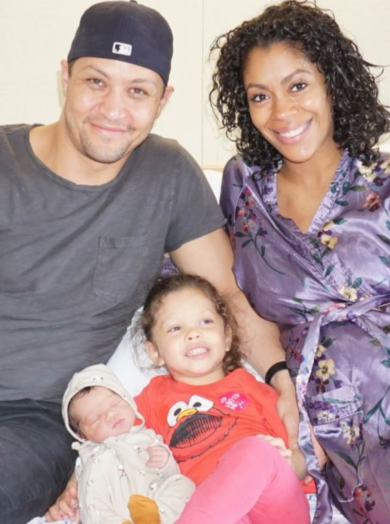 Shirleen Allicot with her husband & daughters. | Source: abc7ny.com