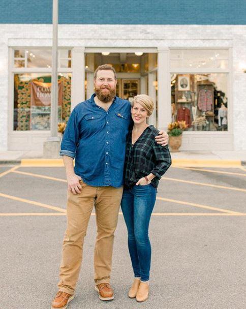Erin Napier with her husband, Ben Napier. | Source: Instagram