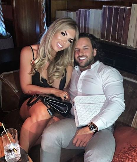 Frankie Essex with her boyfriend | Source: Instagram