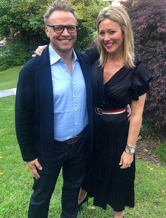 James Fletcher with his wife, Brooke Baldwin. | Source: Instagram
