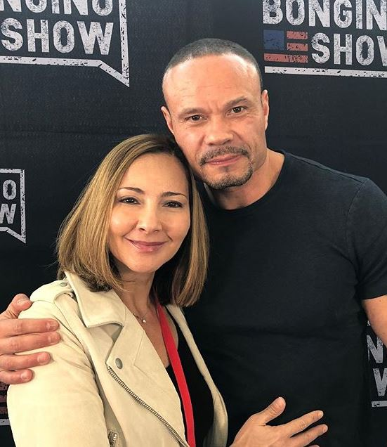 Paula Andrea Bongino with her husband, Dan Bongino. | Source: Instagram