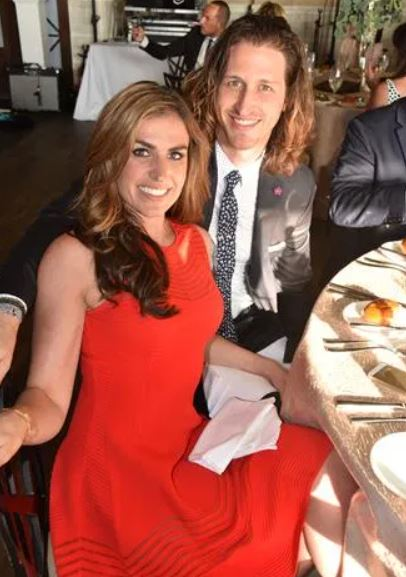 Erin Como with her boyfriend, Chris Smith. | Source: phillychitchat.com