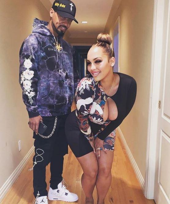 Juelz Santana with his wife, Kimbella Vanderhee. | Source: Instagram