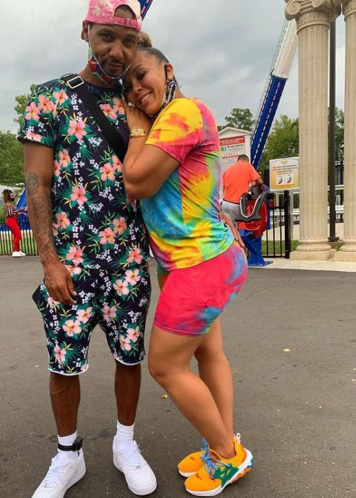 Kimbella Vanderhee with her husband, Juelz Santana. | Source: Instagram