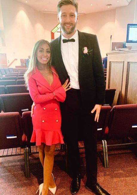 Melinda Shankar with partner, Matt King. | Source: Instagram