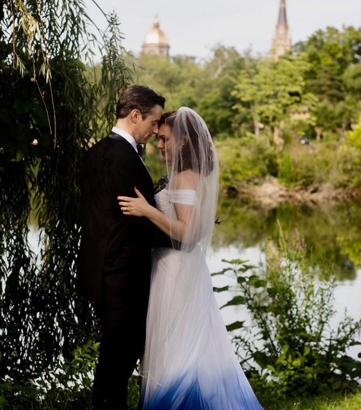 Erin Cummings with her husband Tom Degnan | Source: Instagram