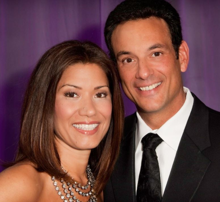 Frank Vascellaro with his wife, Amelia Santaniello. | Source: Facebook