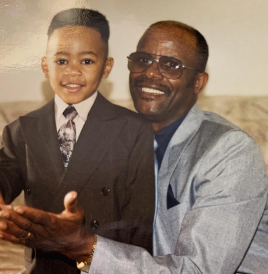 Devvon Terrell with Parent/s}}