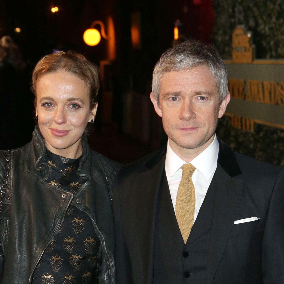 Martin Freeman with his ex-wife Amanda Abbington | Source: TheGuardian.com