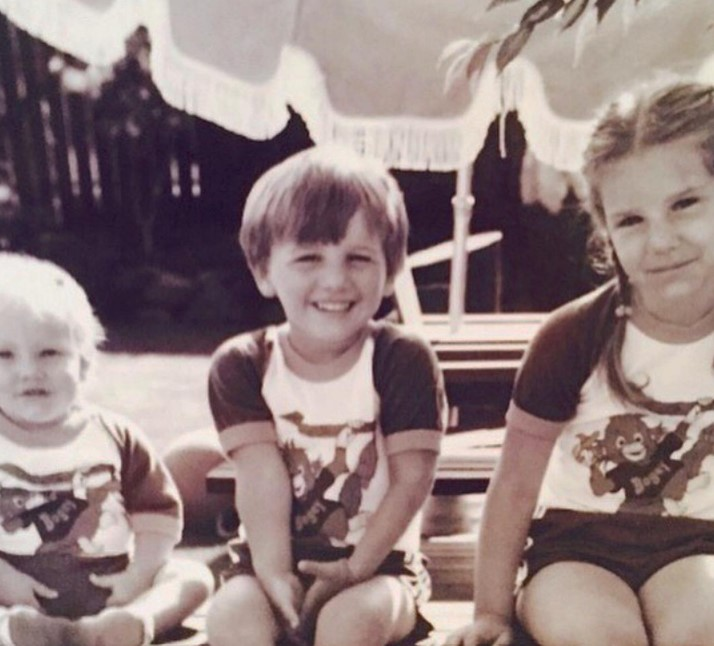 Charissa Thompson with Sibling/s}}