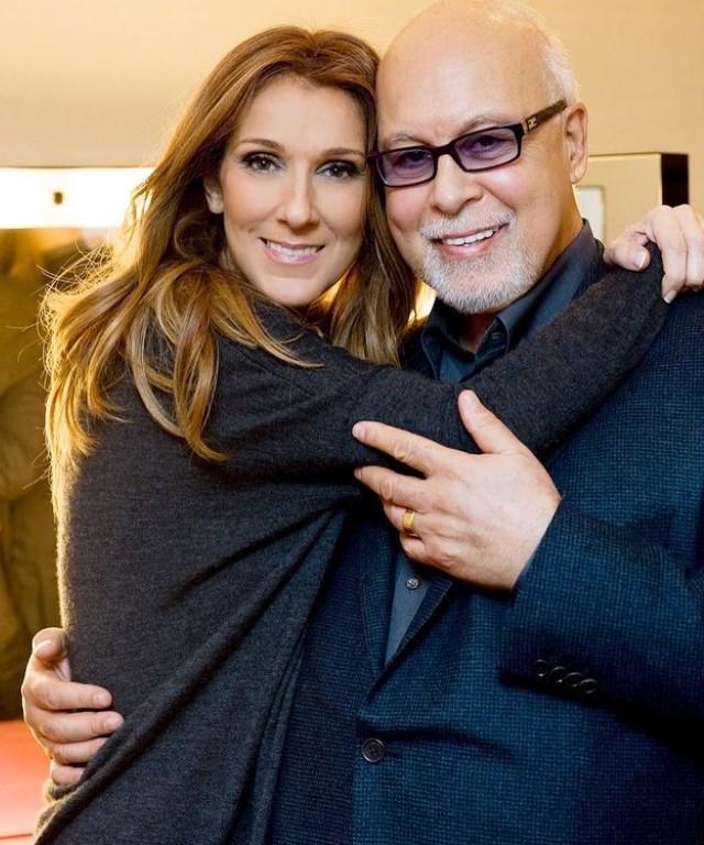 Celine Dion with her late husband Réne | Source: Instagram