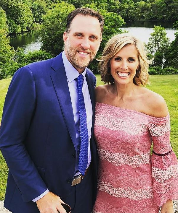 Kate Merrill with her husband, Mike Dunham. | Source: Instagram