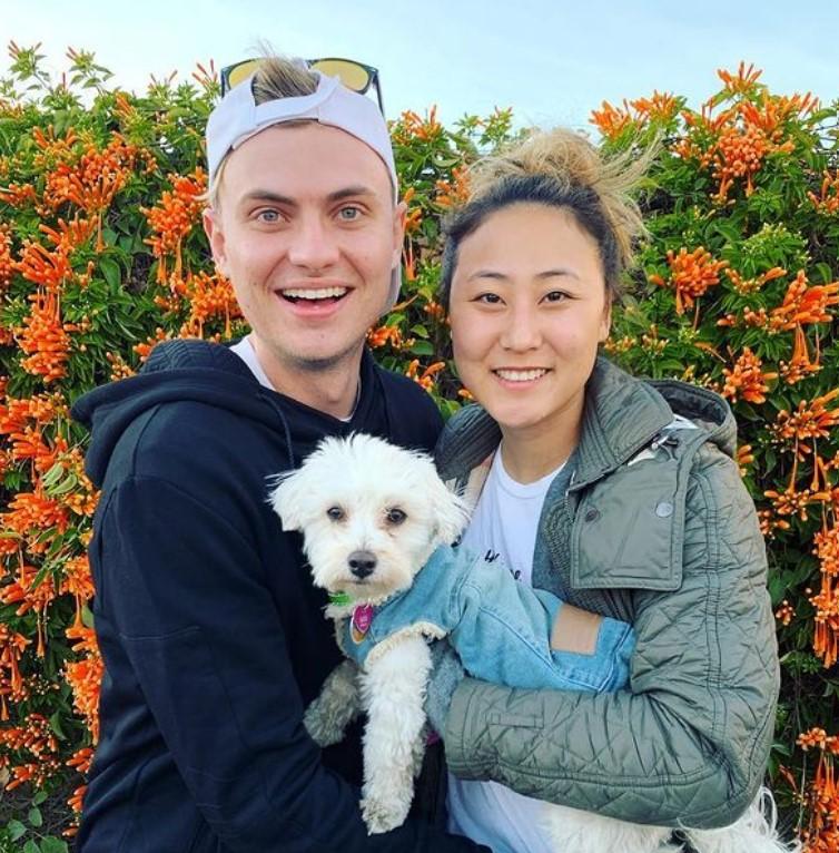 Carter Sharer with Elizabeth Chang   Source: Instagram