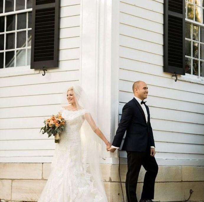 Nicole Nalepa and her husband Andrew | Source: Instagram