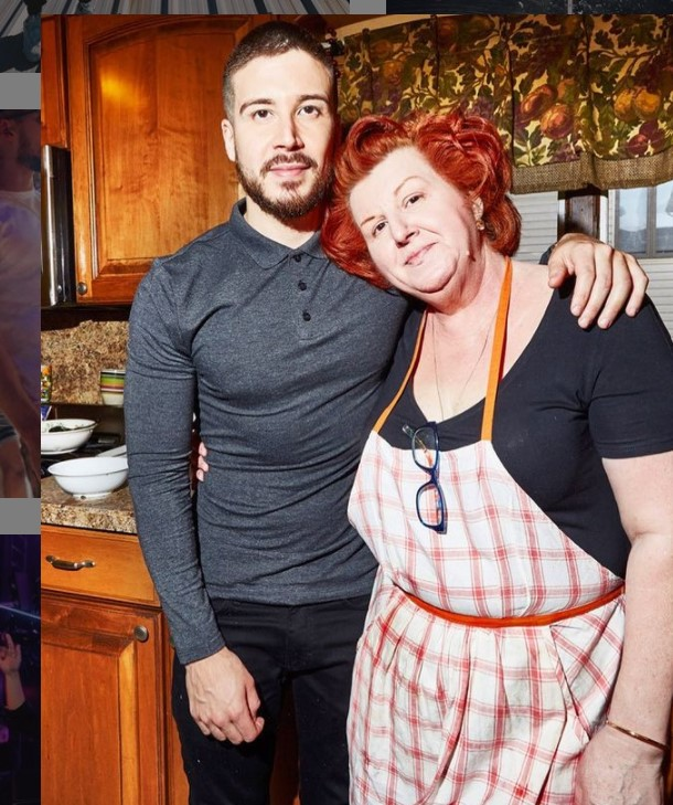 Vinny Guadagnino with Parent/s}}