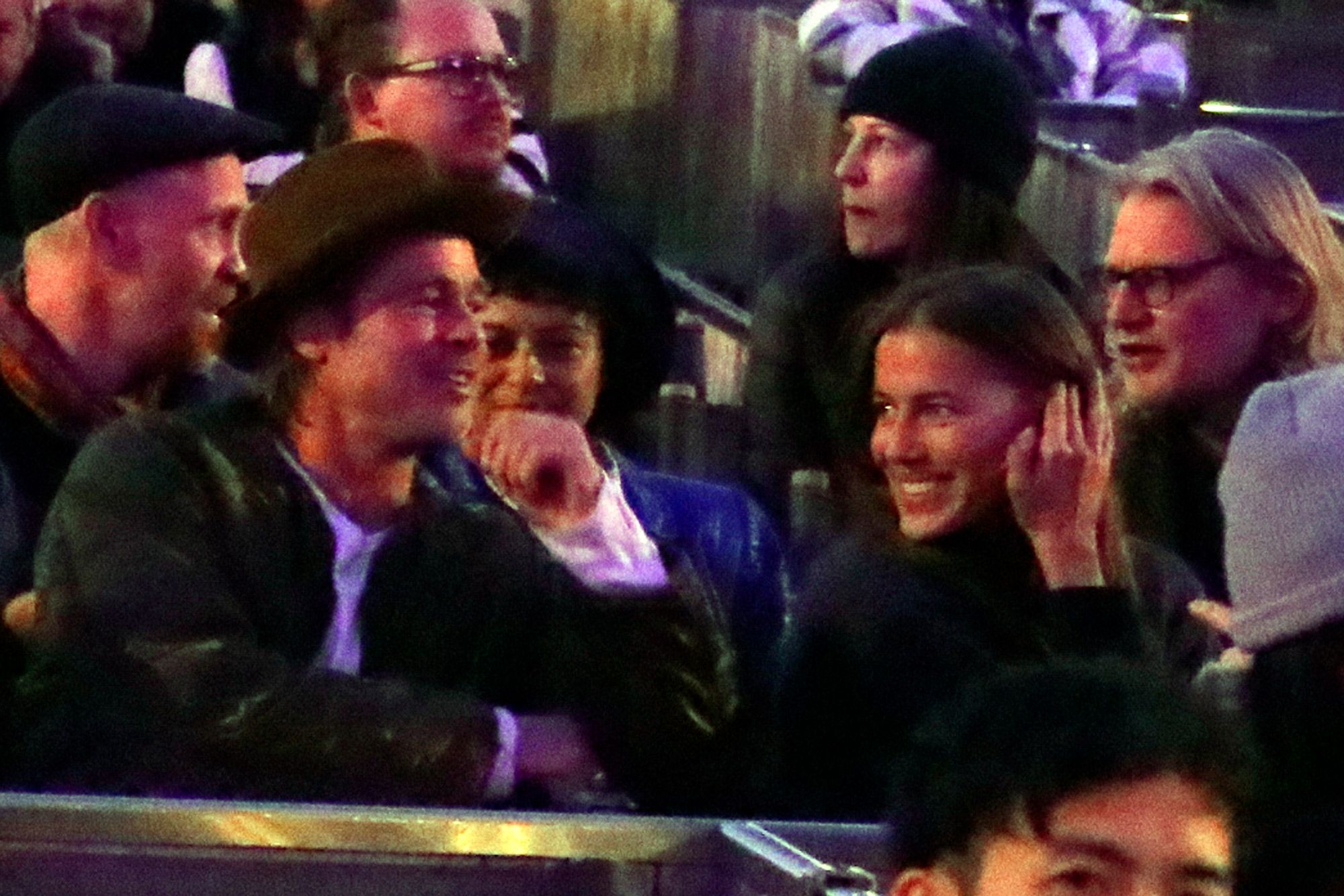 Nicole with her boyfriend Brad Pitt | Source: pagesix.com