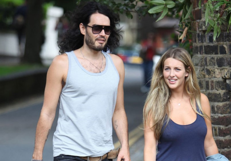 Laura Gallacher with her husband Russell Brand | Source: indiatvnews.com