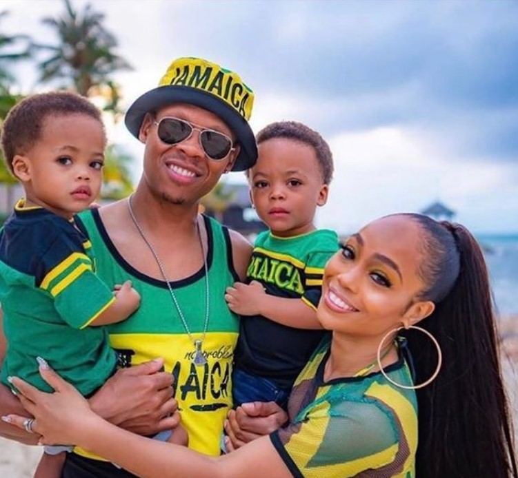 Shamari Fears with her husband and children | Source: Instagram
