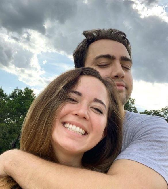 Mizkif with his girlfriend, Maya Higa. | Source: Instagram