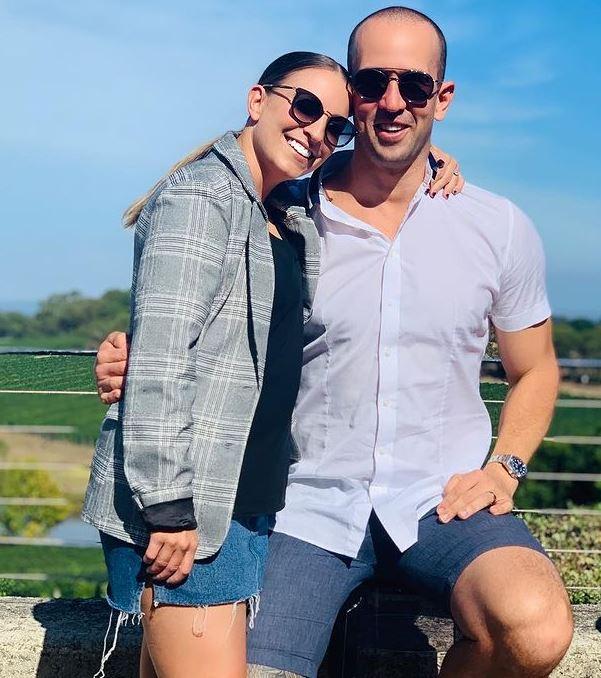 Rachel Watts with her husband, Jayson Watts. | Source: Instagram