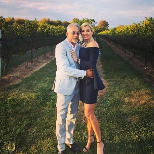 Nadine Caridi with her husband John Macaluso   Source: Nadine's Instagram