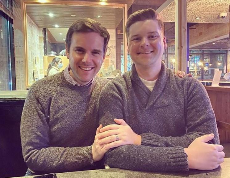 Guy Benson with Adam Wise   Source: Instagram