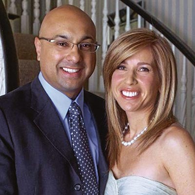 Lori Wachs with her husband Ali | Source: phillymag.com