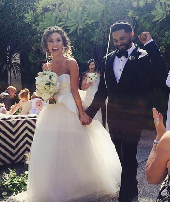 Jude Demorest with her husband, Ammo. | Source: Instagram