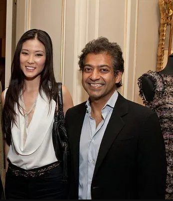 Naval Ravikant with his wife Krystle Cho | Source: biogossip.com