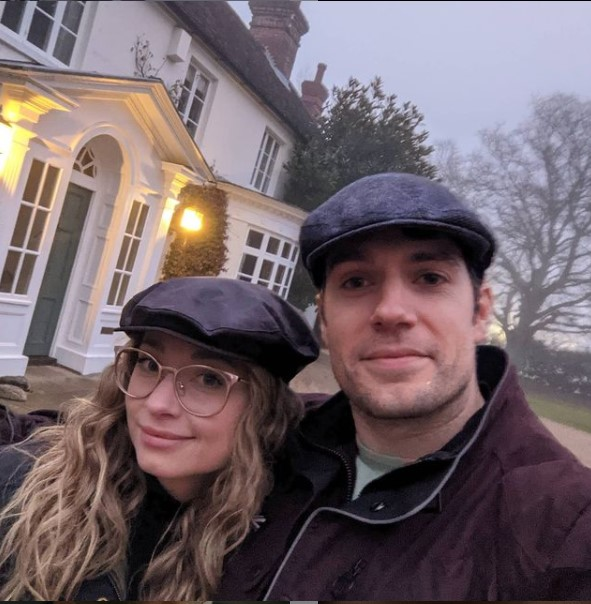 Henry Cavill with his girlfriend Natalie Viscuso | Source: Henry's Instagram
