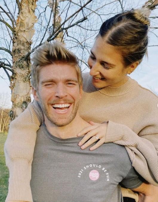 Amanda Batula with her fiance Kyle Cooke   Source: Amanda's Instagram