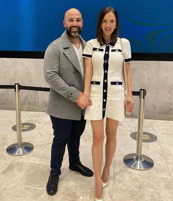 Maria DiGeronimo with her husband Carlos Vannini. | Source: Maria's Instagram