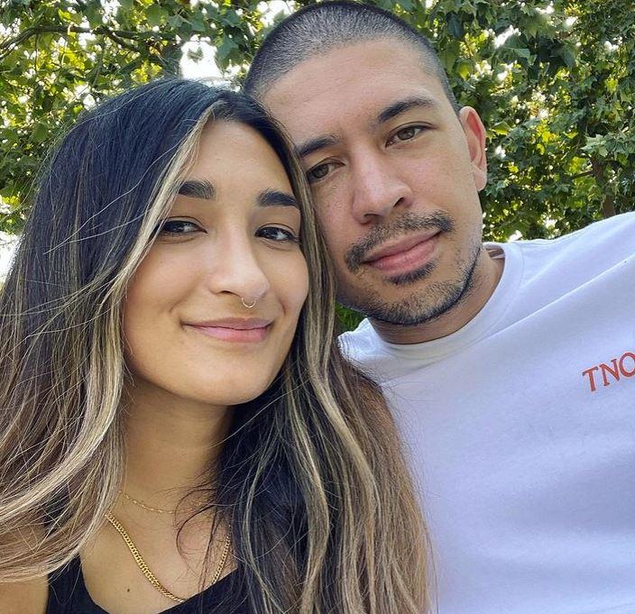 Noel Miller and his girlfriend, Aleena | Source: Instagram